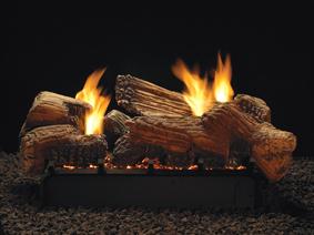 Log Sets Burners Harmony Slope Glaze Contour And